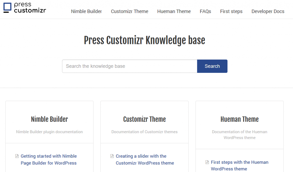 Customizr Wordpress Theme Press Customizr
